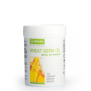 Wheat Germ Oil with Vitamin E, E-vitamiini toidulisand